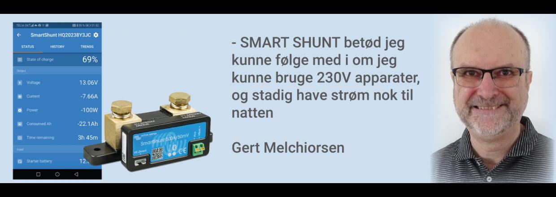 Erfaringer med den nye Victron SmartShunt 500A/50mV