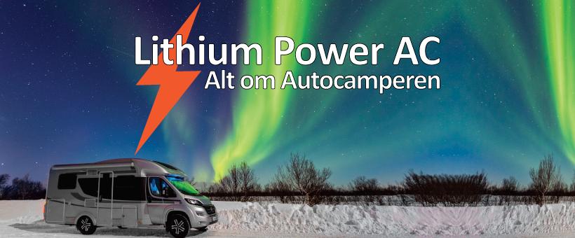 Få lithium i autocamperen