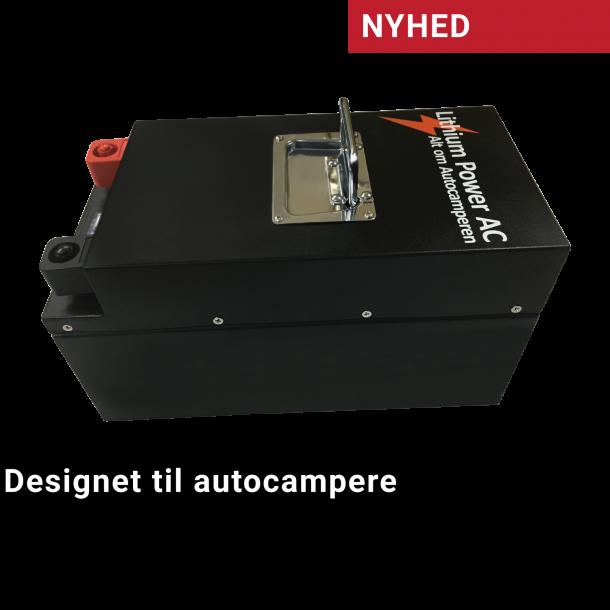 Alt om Autocamperen 100Ah Lithium-batteri Black Steel